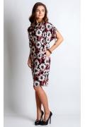Летнее платье с цветами TopDesign A4 021