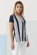 Блузка с V-вырезом Sunwear Q14-3-30 (коллекция 2018)