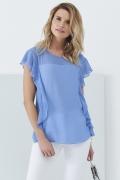 Голубая блузка Sunwear Q49-3-15