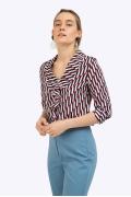 Блузка из легкой ткани с геометрическим принтом Emka B2405/tentacion