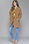 Женское пальто с вязаными рукавами Zaps Abbie