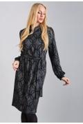 Трикотажное платье TopDesign B8 010