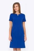 Синее платье Emka Fashion PL-591/suriya (коллекция 2017)