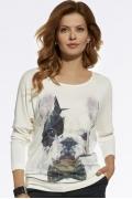 Трикотажная блузка Enny 220071