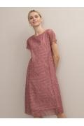 Платье А-силуэта с графическим принтом Emka PL1106/toronto