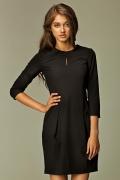 Чёрное платье Nife S32