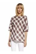 Летняя женская блузка в ромбик EnnyWear 230112