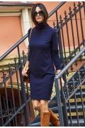 Платье тёмно-синего цвета Numinou NU127