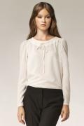 Женская блузка молочного цвета Nife B32
