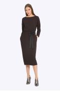 Тёплое женское платье Emka PL777/abigail