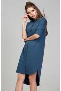 Платье-рубашка с поясом Donna Saggia DSP-285-1