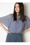 Лёгкая летняя блузка свободного кроя Emka B2513/dressy