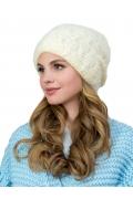 Женская шапка молочного цвета Landre Астра