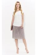 Летняя элегантная блузка с коротким рукавом Zaps Allyson