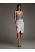 Весенне-летняя юбка-карандаш Emka S894/walk
