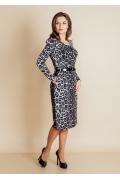 Приталенное платье TopDesign B6 021