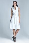 Платье с рубашечным воротом Nife S72