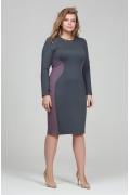Трикотажное платье Donna Saggia DSPB-09-72t