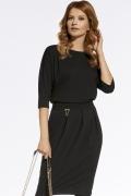 Чёрное платье Enny 220040