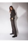 Прямые костюмные брюки Emka D163/original