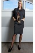 Платье с шарфиком TopDesign B9 035
