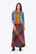 Длинная юбка-трапеция Emka Fashion 314-manisha