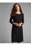 Утонченное черное платье Emka PL1076/premiera