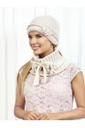 Бежевая шапка Landre Беатрис