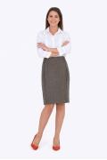 Шерстяная юбка Emka Fashion 658-okeana