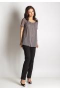 Удлиненная блузка TopDesign A6 077