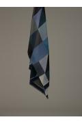Палантин геометрической расцветки Emka A003/teresa