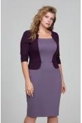 Платье с эффектом жилета Donna Saggia DSPB-08-52t