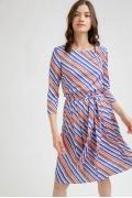 Летнее платье в полоску Emka PL980/morena