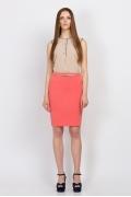 Розовая юбка Emka Fashion 584-akiniya