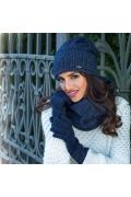 Тёплые шерстяные женские перчатки Kamea Maria