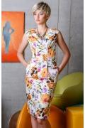 Летнее приталенное платье Flaibach 069S6