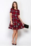 Платье в клетку Emka Fashion PL-502/babetta