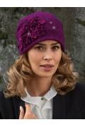 Женская шапка с декором Willi Rafina