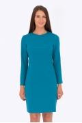 Бирюзовое платье Emka Fashion PL-555/wisteria