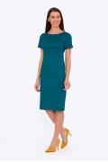 Платье-футляр с коротким рука вом Emka Fashion PL-585/salvadora