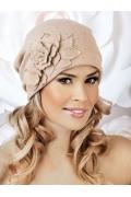 Женская шапка с цветком Willi Malivia