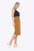 Миди юбка с завышенной талией Emka S712/inca