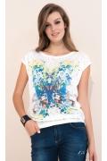 Летняя блузка из дышащей ткани Zaps Saloni