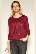 Блузка бордового цвета Zaps Laverne