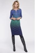 Осеннее платье с молнией на груди Sunwear OS212-4-53