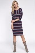 Полосатое платье из трикотажа Sunwear OS207-5-26