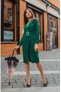 Эффектное платье на запах Donna Saggia DSP-394-74
