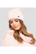 Светло-розовая шапка Kamea Anna