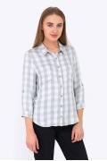 Классическая женская рубашка в клетку Emka b 2215/fabi