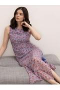 Летнее платье с цветочным принтом Emka PL1055/mono